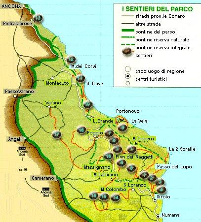 Cartina Marche Conero.Ho Tre Ore Di Tempo